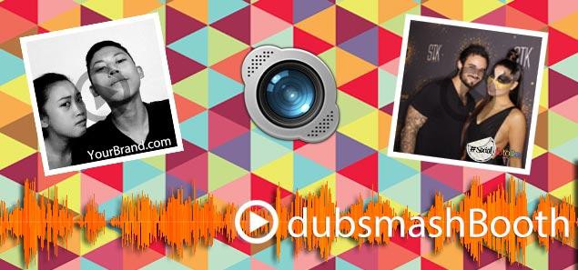 New York and Los Angeles DubSmash Booth Rental- Branded Social Media