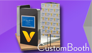 Custom Photo Booth Kiosk Tradeshow and Expos