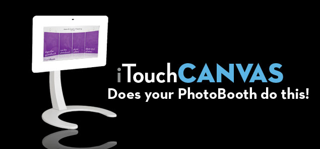 iTouchCanvas 46 inch Touch screen Photo Booth